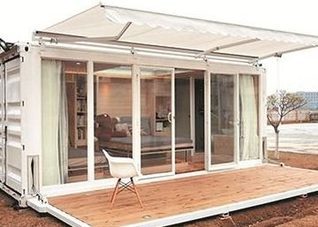 Compound Floor Steel Keel 20hc Prefab Shipping Container House