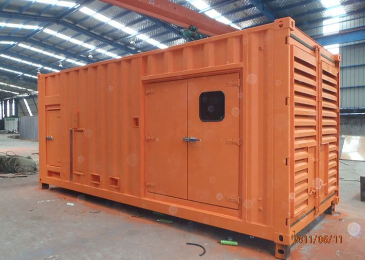 20 GP Electromechanical Cabinet Shipping Container Equipment