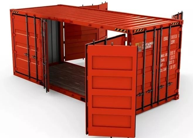 Mobile Warehouse 20ft Prefab Storage Container House
